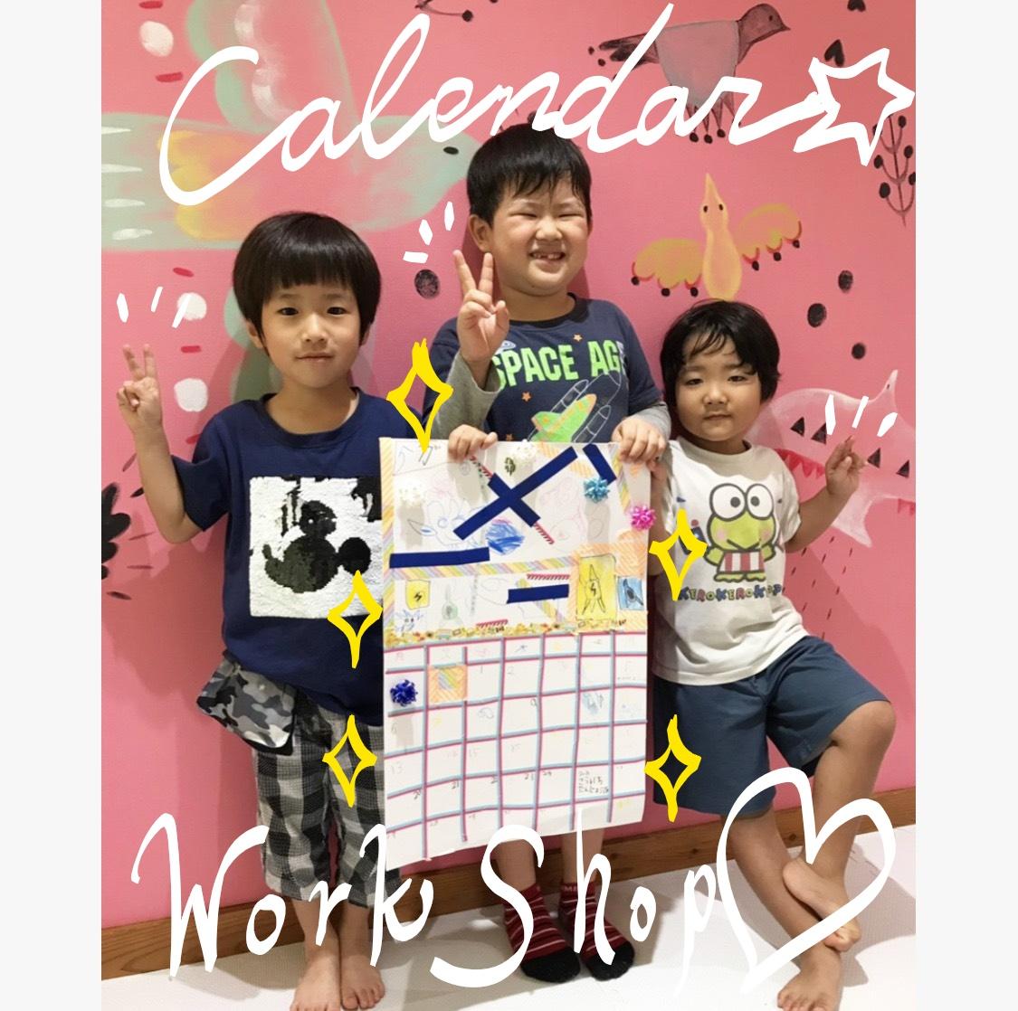 カレンダーづくりin laputa♡♥♡