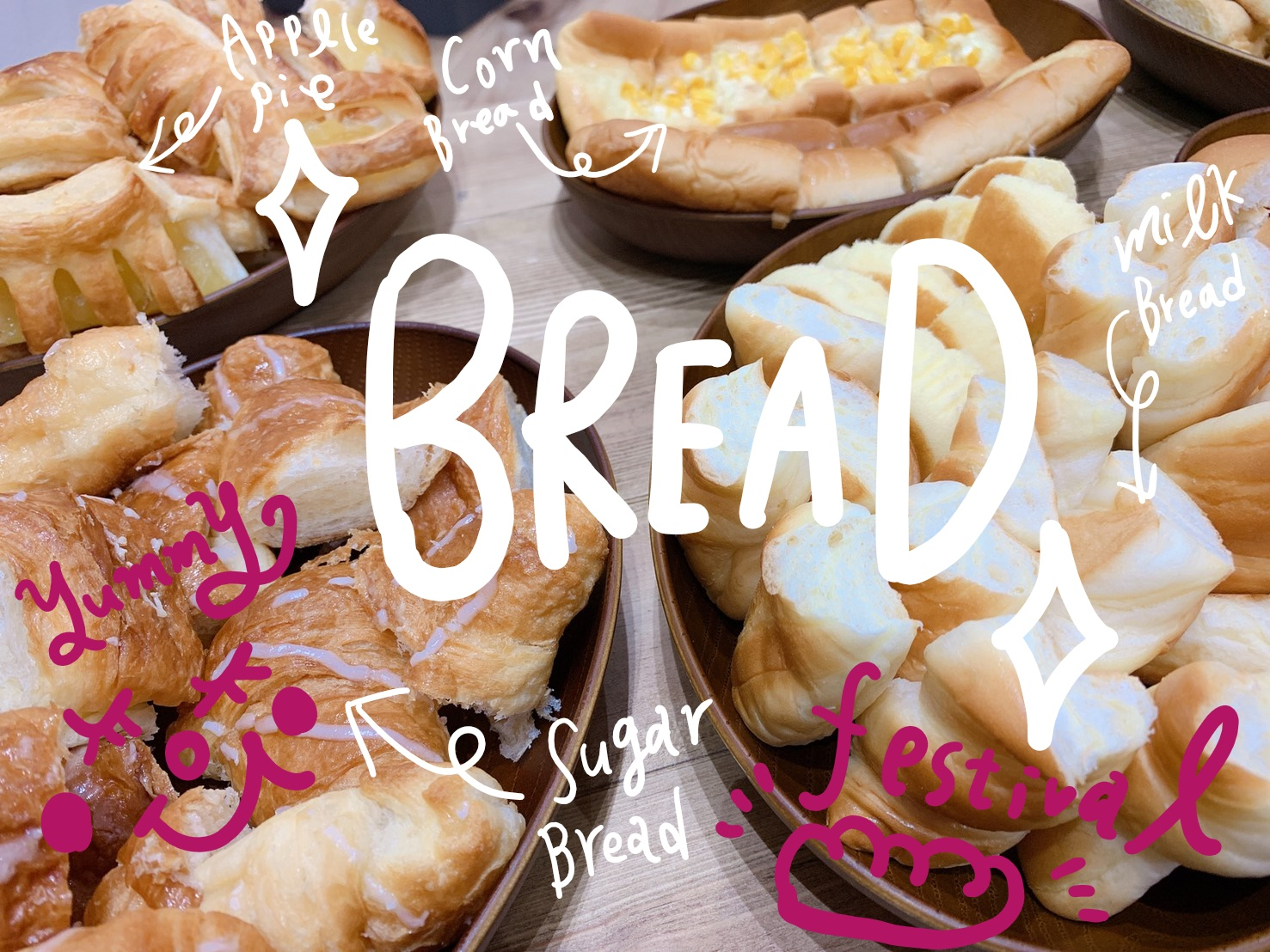 初夏のパン祭り🥖🍞🥐💕
