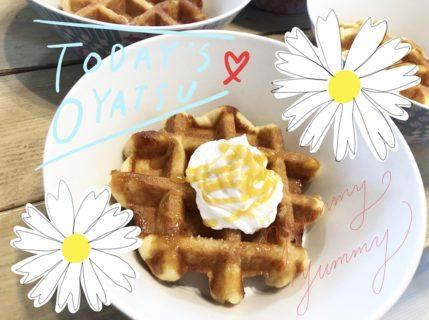 11/6 Waffle!ワッフォ〜!!
