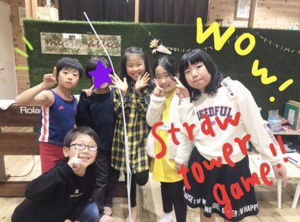 ストロータワーゲーム大会★