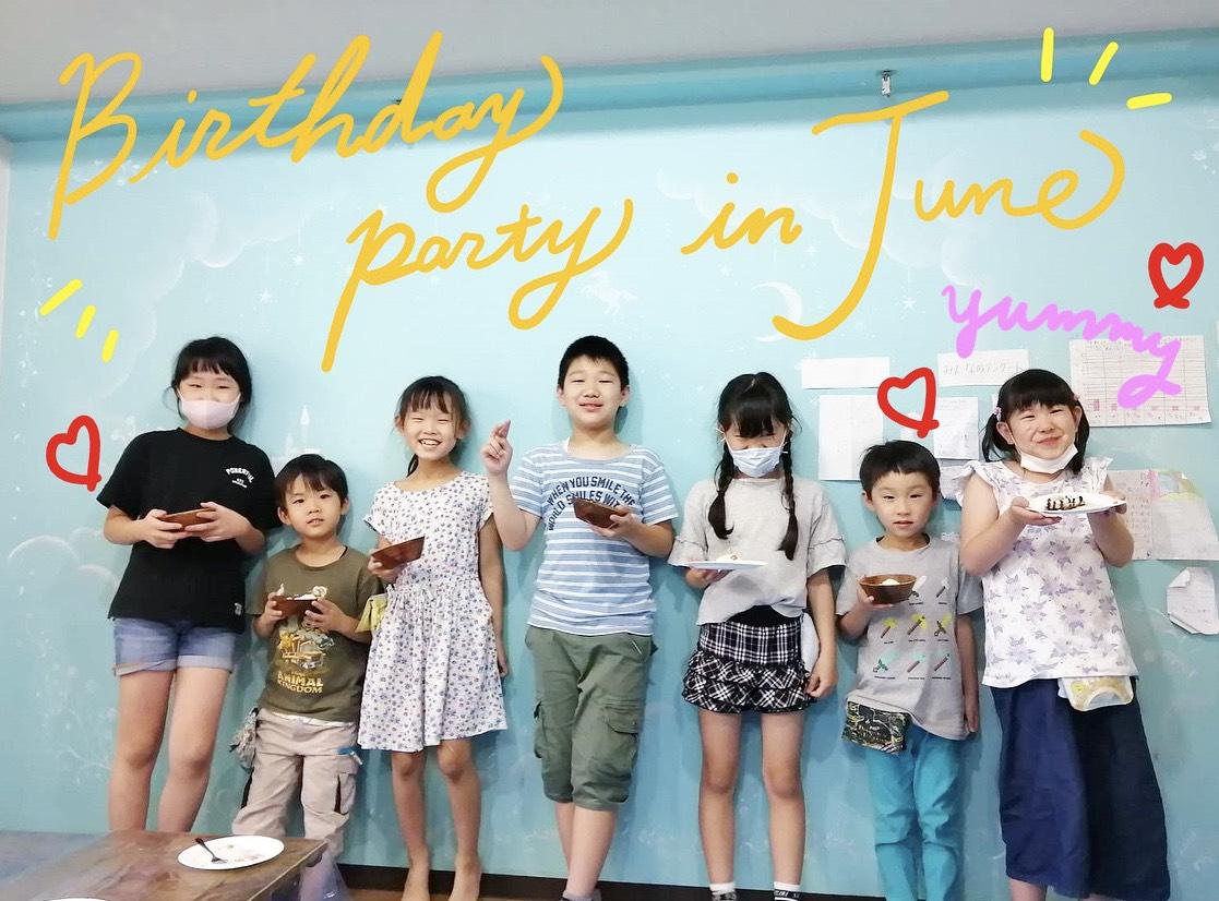 6/29 お誕生日会&パティシエ体験🍒@メリー