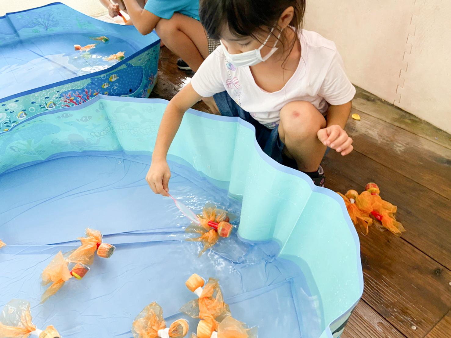 てづくり金魚すくいで遊ぼう!@tida
